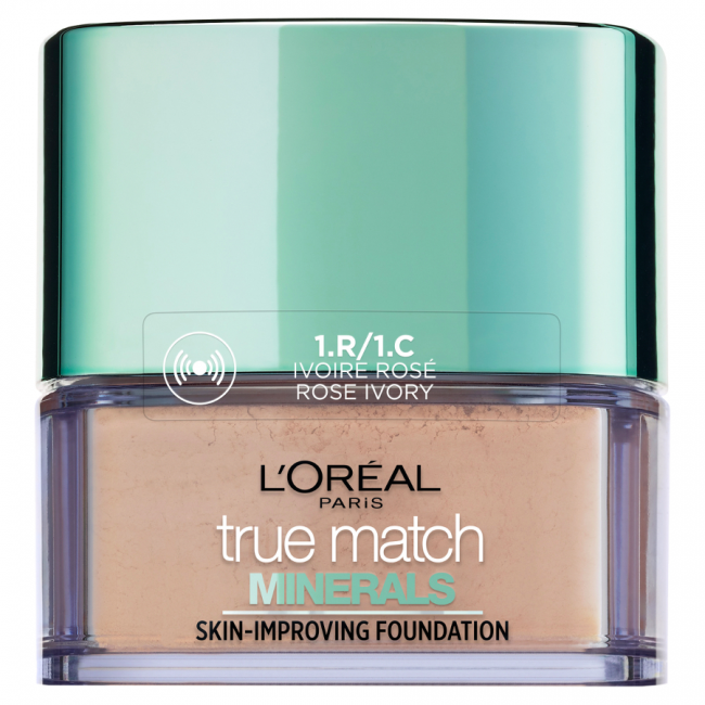 Puder L'Oreal True Match Minerals Puder mineralny 1.C Ivory Rose 10 g