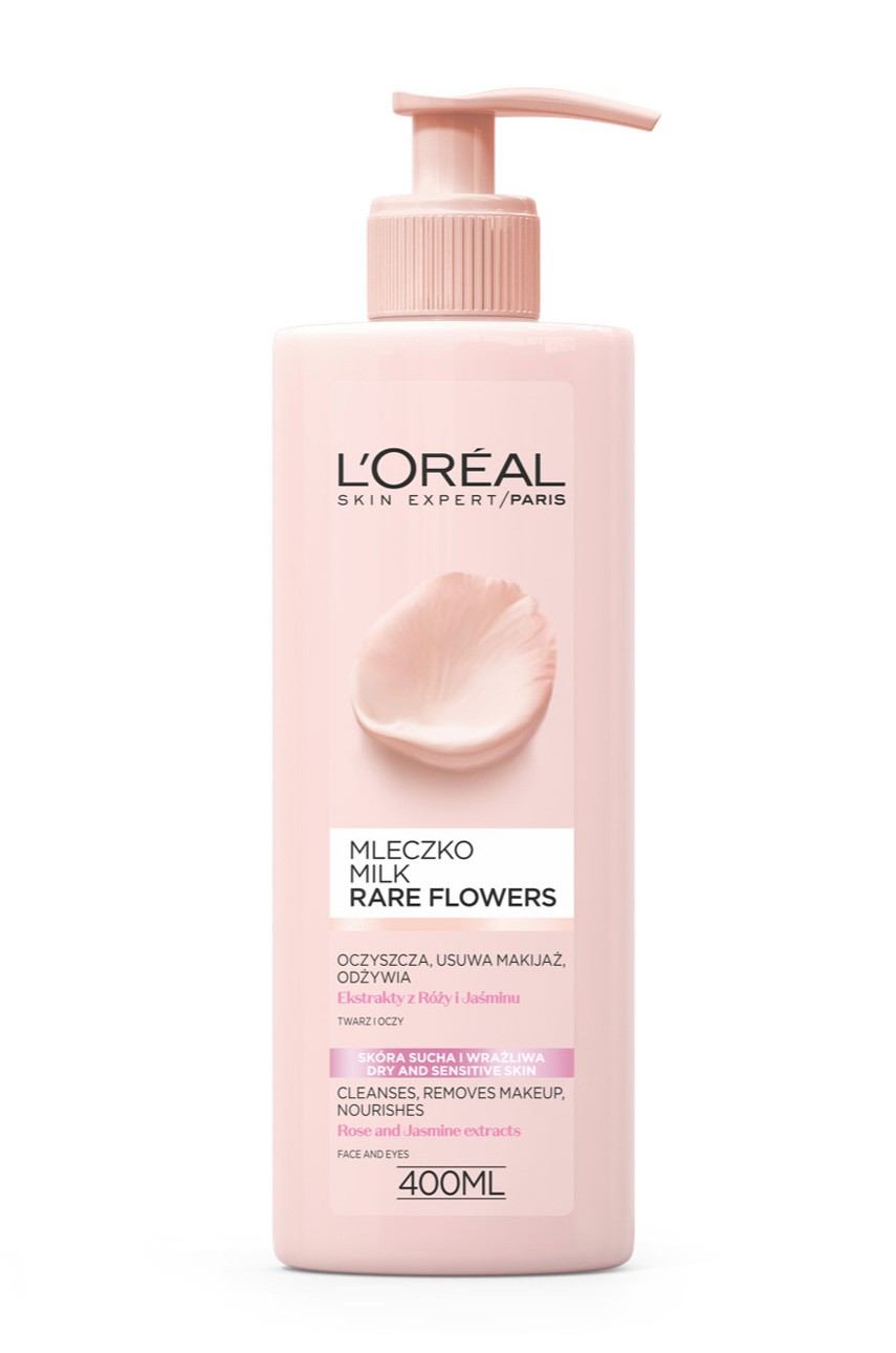 L'Oréal Paris - Mleczko do demakijażu - Skin Expert Rare Flowers - 03600523449200