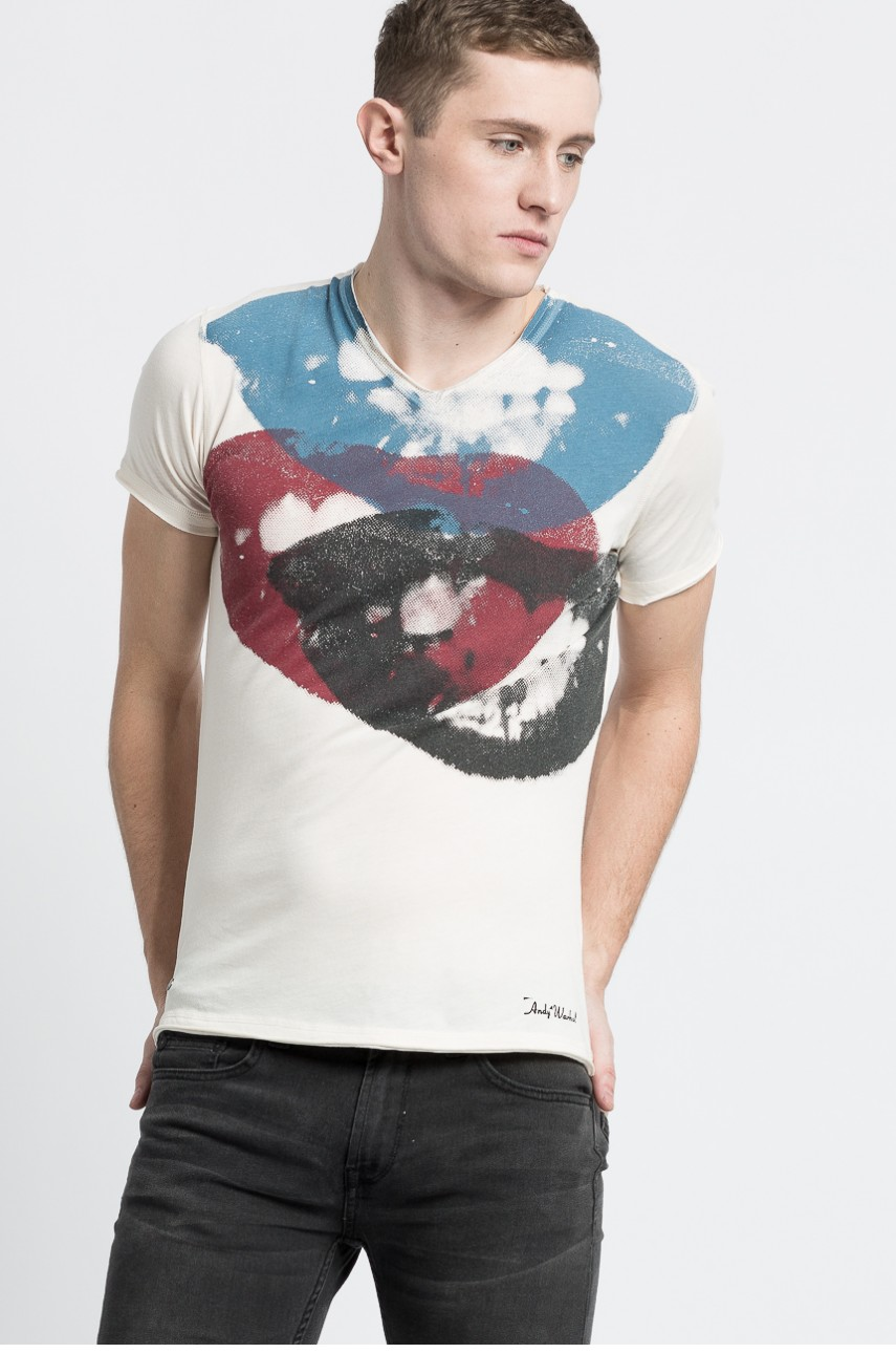 Andy Warhol by Pepe Jeans - T-shirt Smile -
