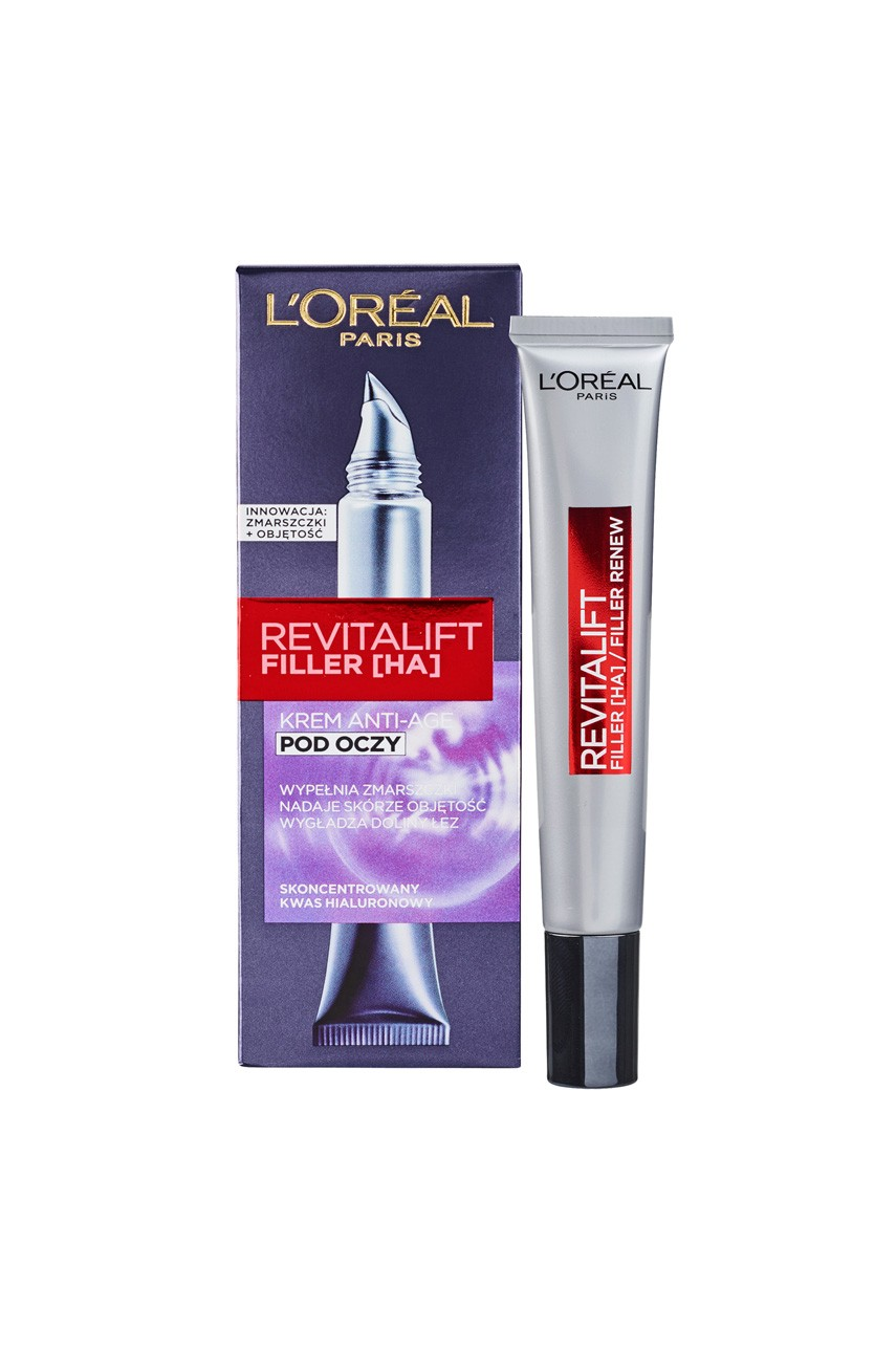 L'Oréal Paris - Krem pod oczy - Revitalift Filler Anti-Age 15ml - 03600523201532