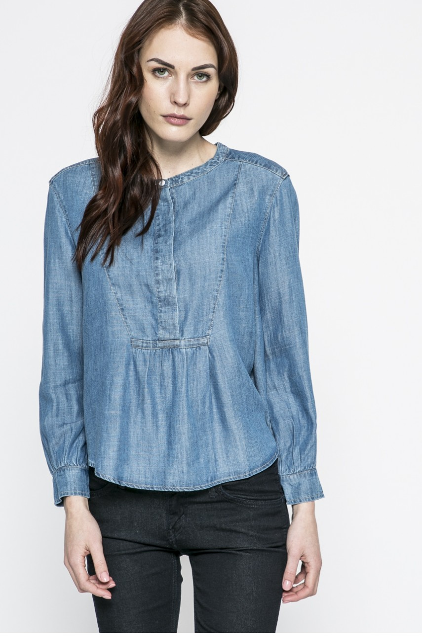 Levi's - Bluzka MARINA BLOUSE MEDIUM LIGHT WA
