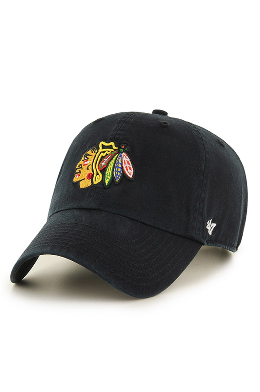 47brand - Czapka Chicago Blackhawks Clean up - 00053838086586