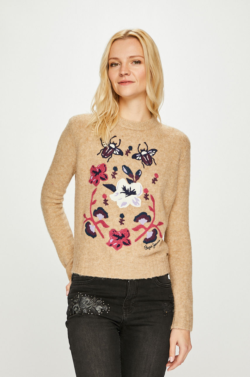 Pepe Jeans - Sweter Lali