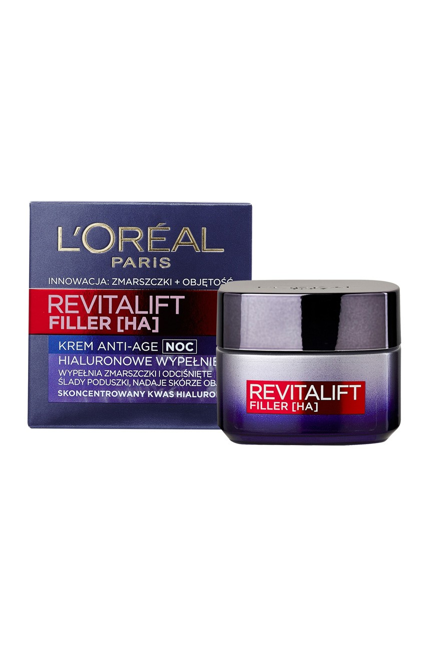 L'Oréal Paris - Krem na noc - Revitalift Filler Anti-Age 50ml - 03600523201501