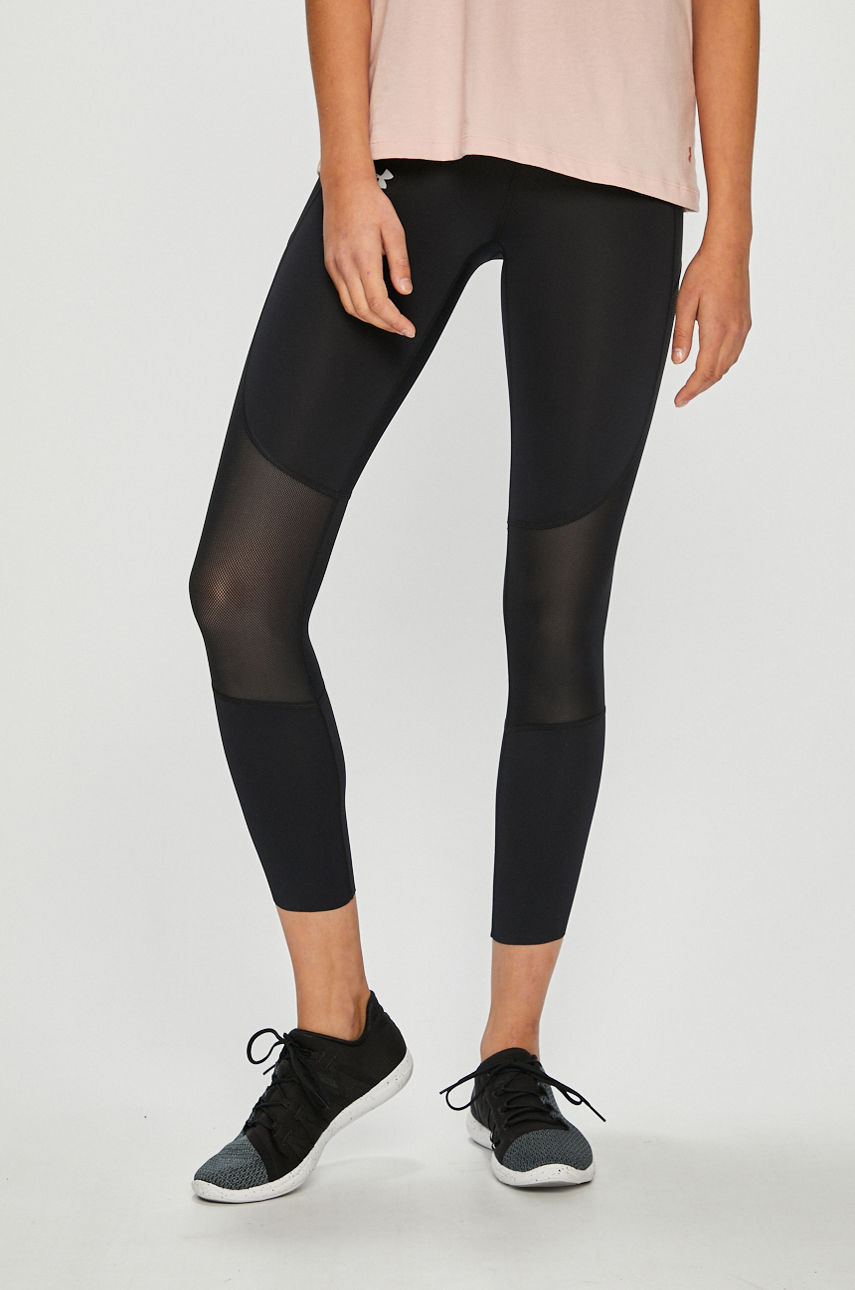 Under Armour - Legginsy Speed Pocket Run Crop
