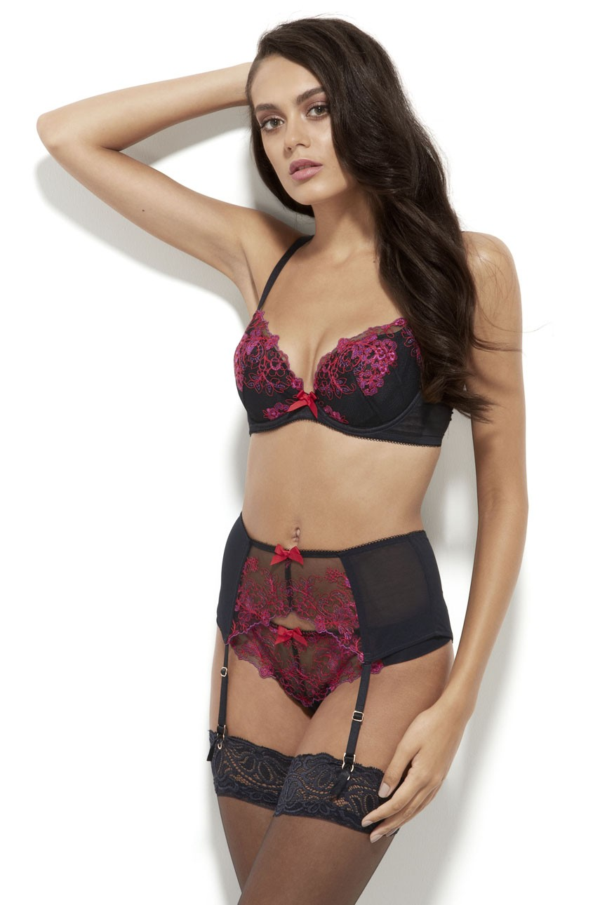 Gossard - Pas do pończoch VIP Passion Flower Suspender -