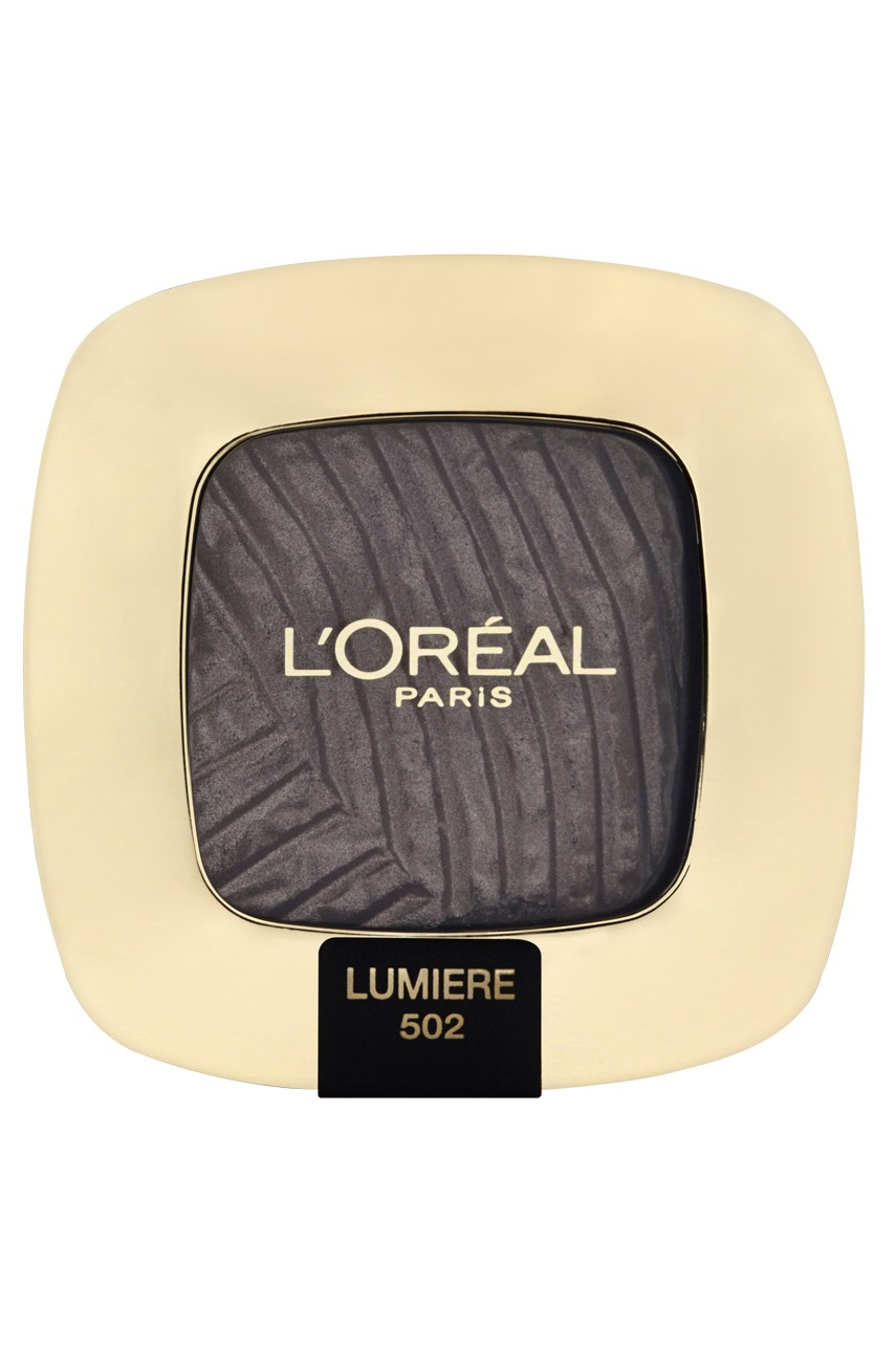L'Oréal Paris - Cienie do powiek Color Riche L'Ombre Pure 502 Quartz Fumé - 00000030110847