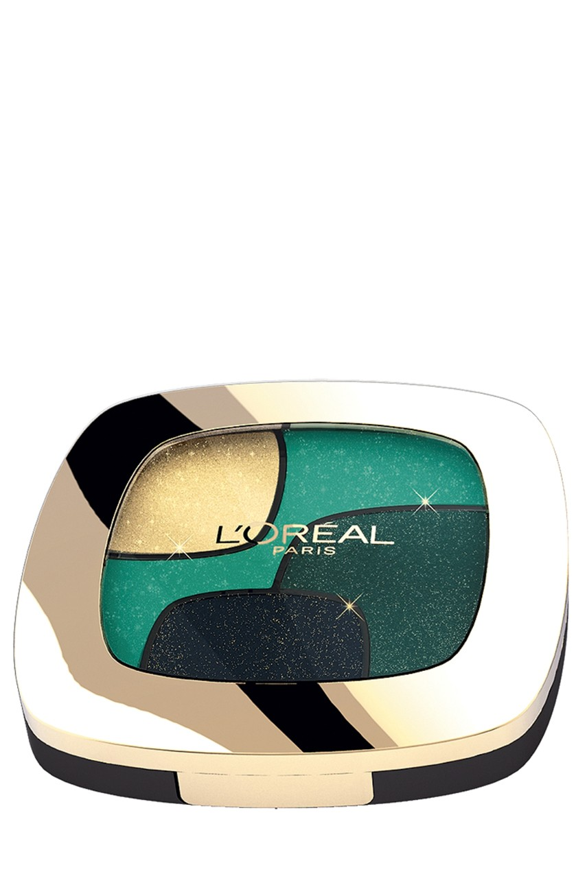 L'Oréal Paris - Cienie do powiek Color Riche Quad P3 Emerald Conquest - 03600522203643