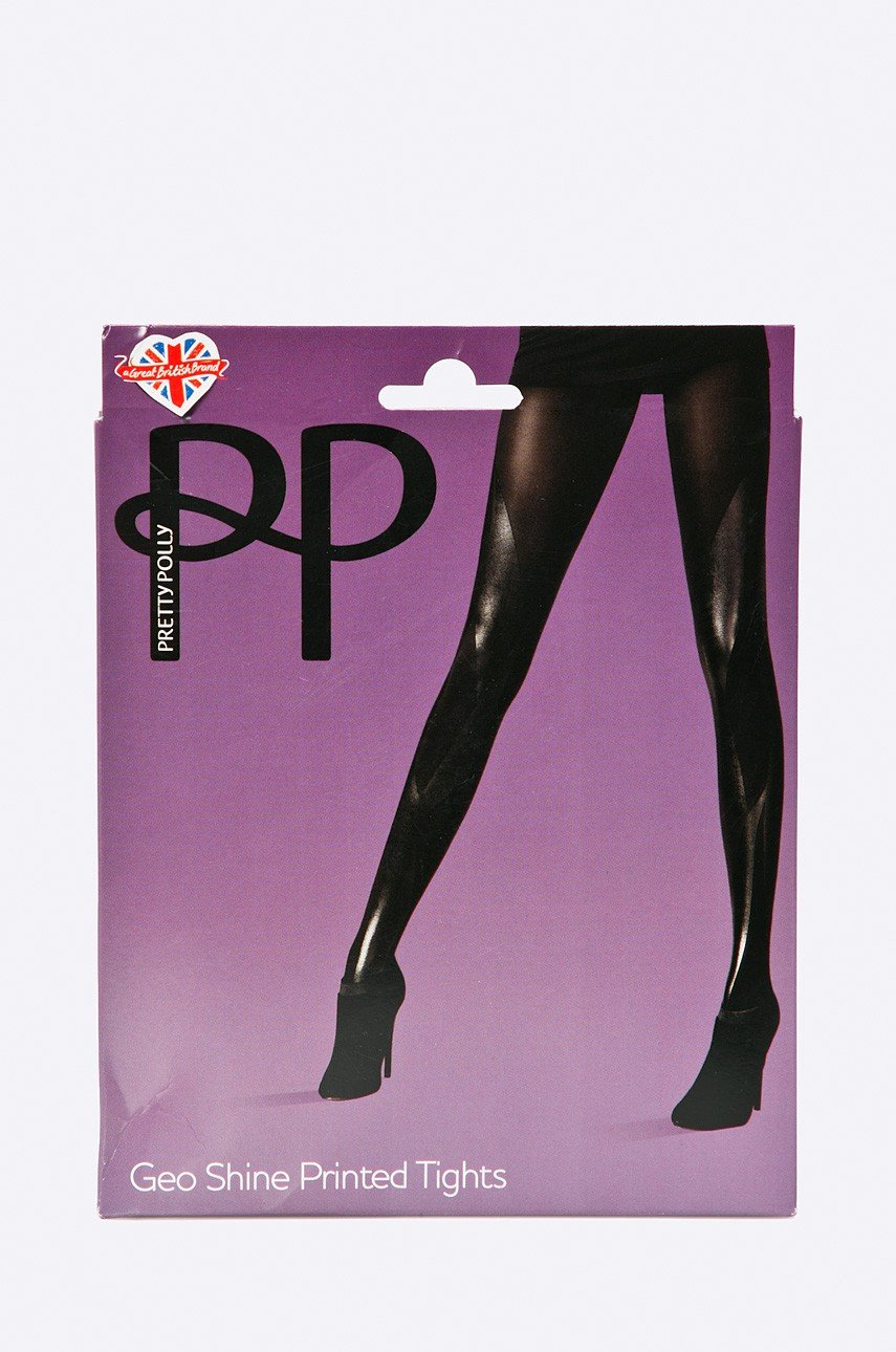 Pretty Polly - Rajstopy Geo Print - 05053014473273