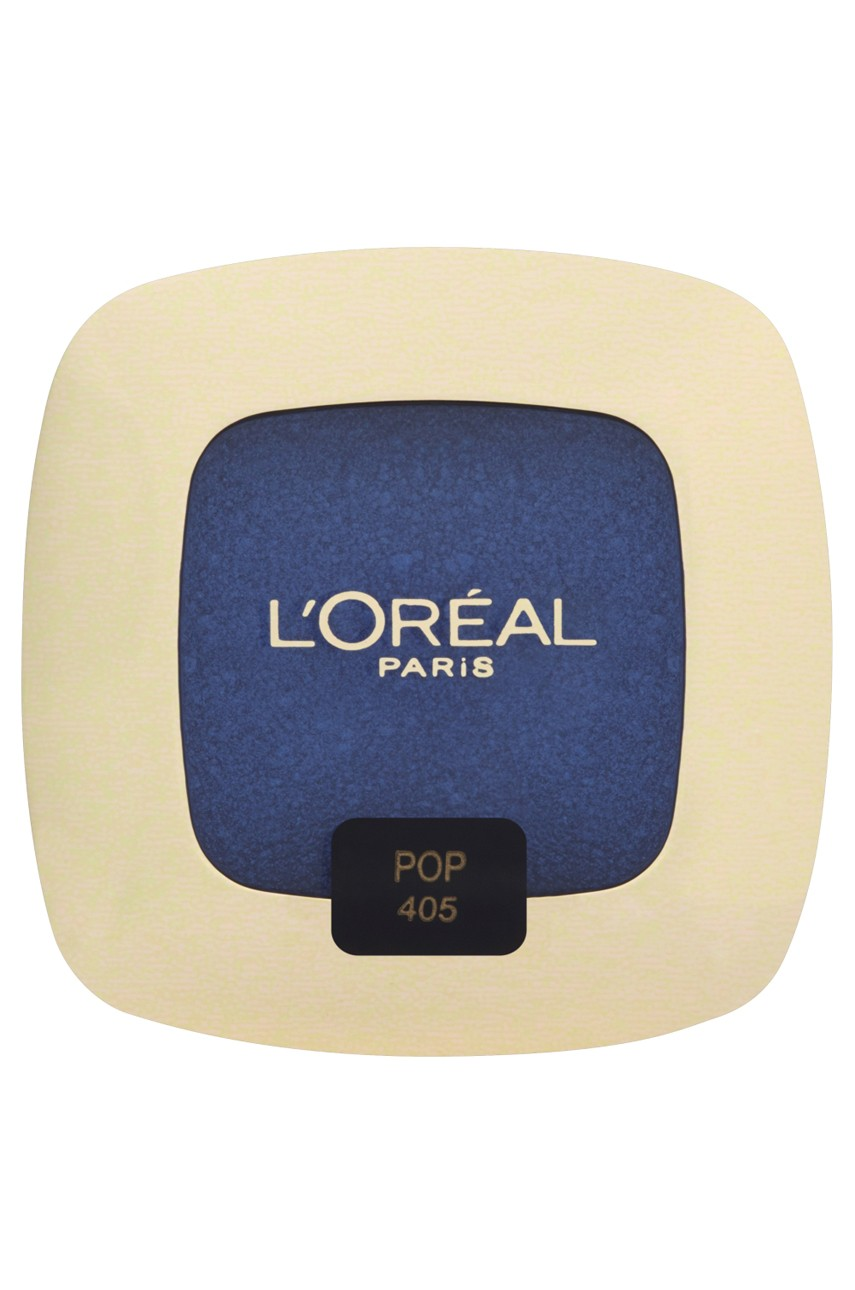L'Oréal Paris - Cienie do powiek Color Riche L'Ombre Pure 405 The Big Blue - 00000030110793