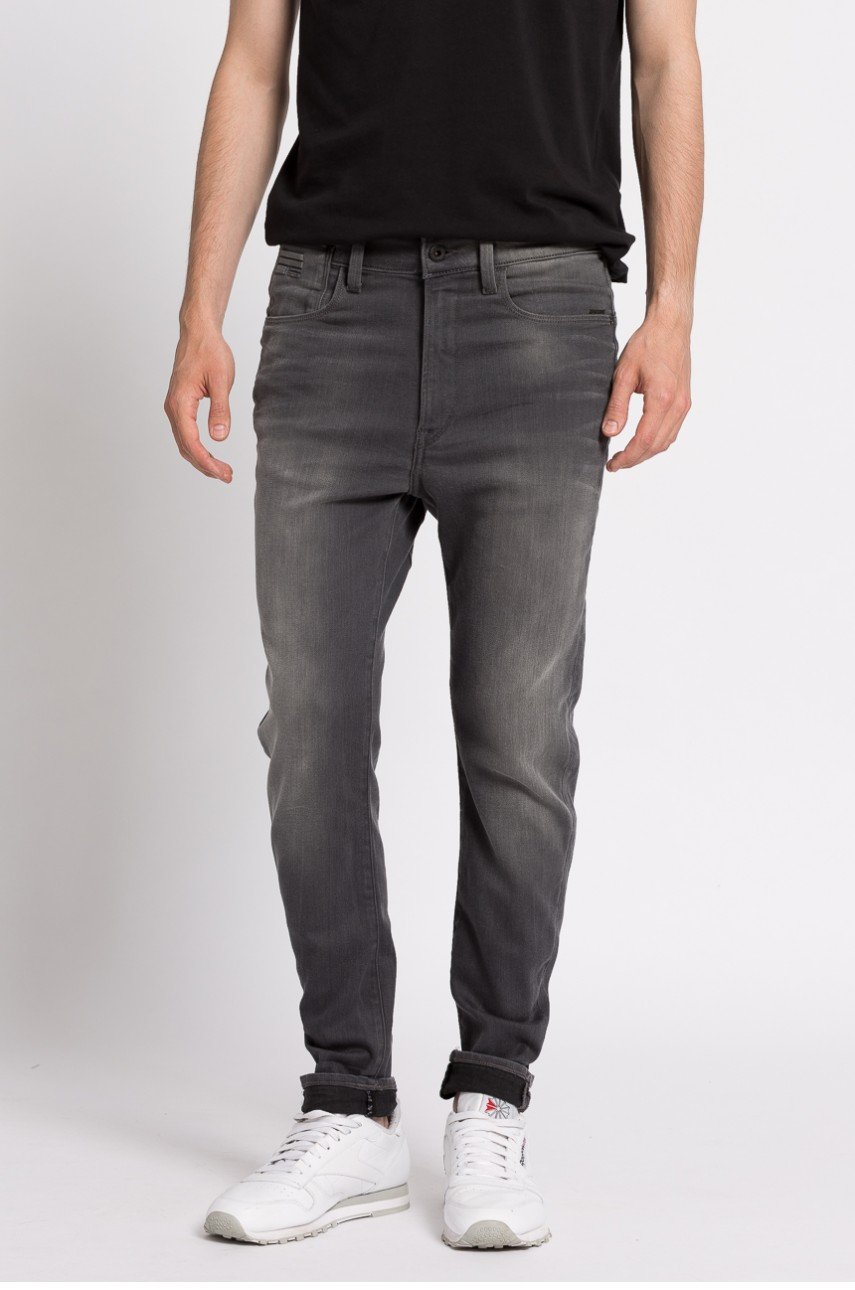 G-Star Raw - Jeansy Type C Back Zip 3D Super Slim
