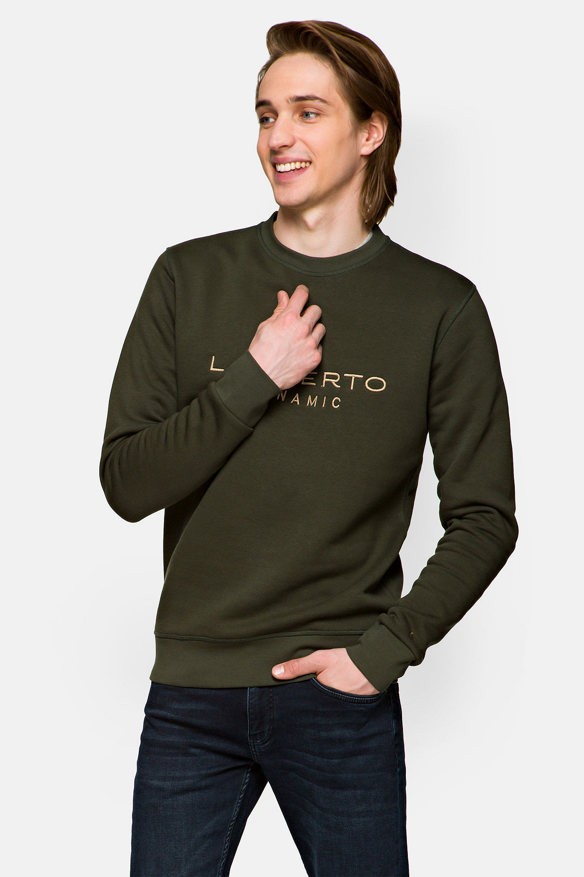 Bluza Zielona Quentin rozmiar 2XL; L; M; XL