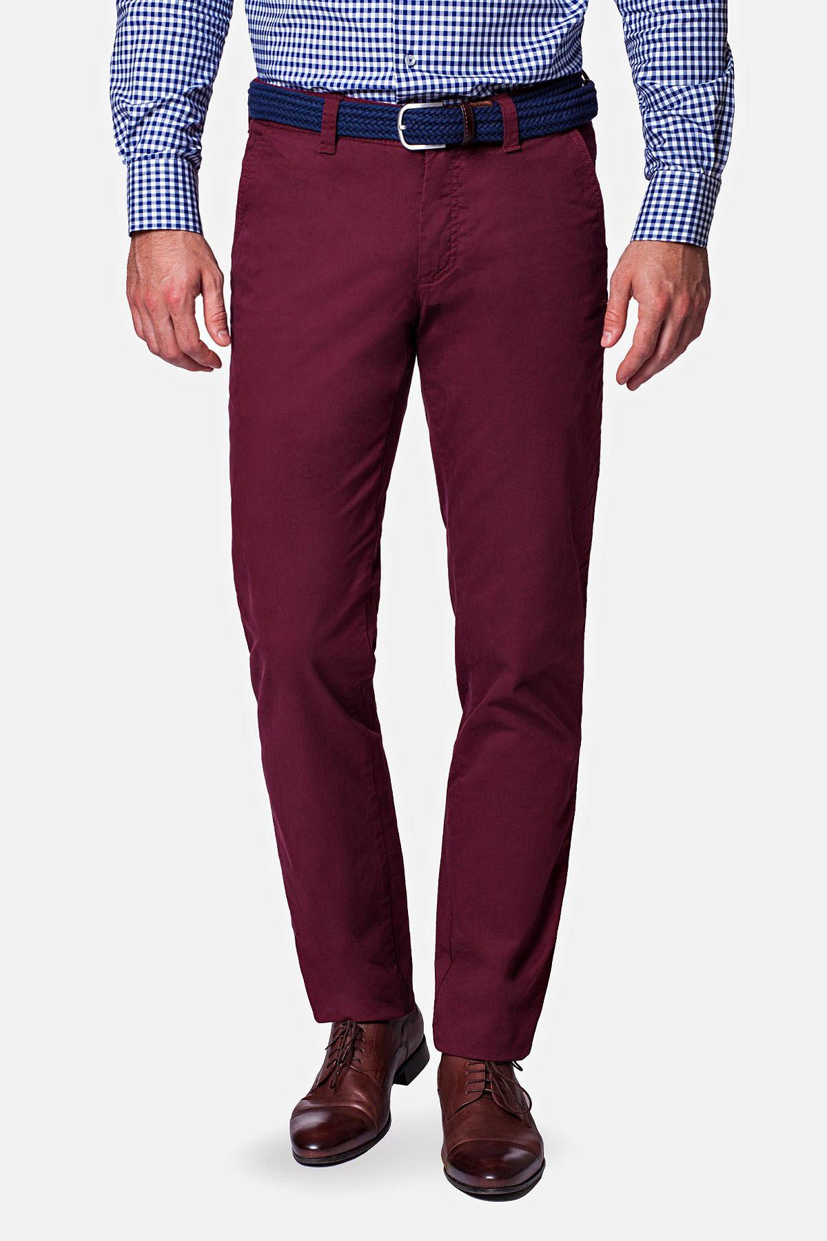 Spodnie Bordeaux Chino Kevin II rozmiar 182/82; 182/84