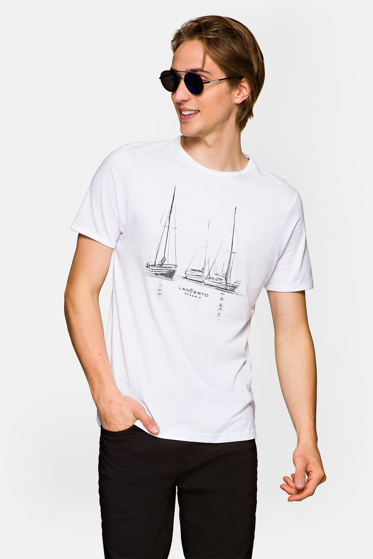 Koszulka Biała Charlie rozmiar 2XL; 3XL; L; M; XL