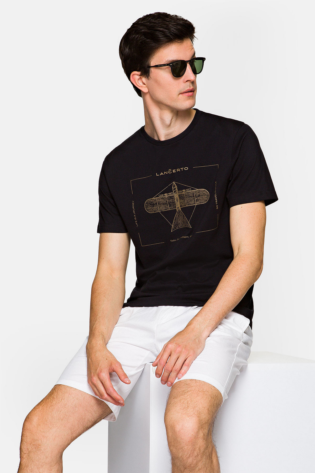 Koszulka Ciemnogranatowa Rory rozmiar 2XL; 3XL; 4XL; 5XL; L; M; XL