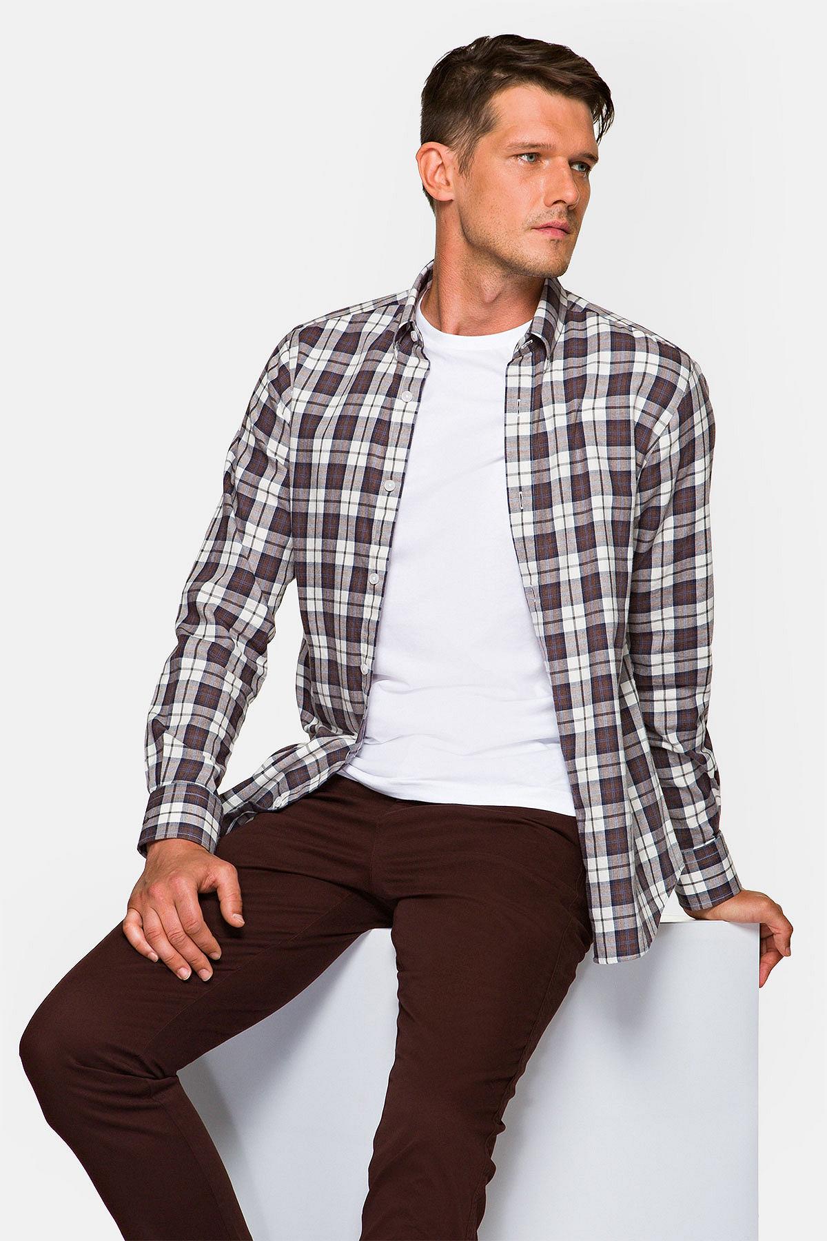 Koszula w Kratę Jayden rozmiar 2XL; L; M; XL