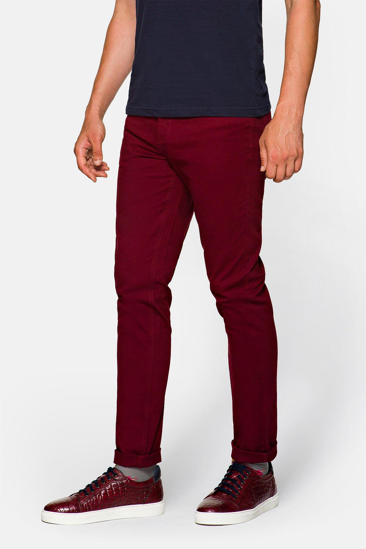 Spodnie Bordowe Nolan rozmiar W31/L32; W32/L32; W33/L32; W34/L32; W35/L32; W36/L32; W38/L32; W40/L32