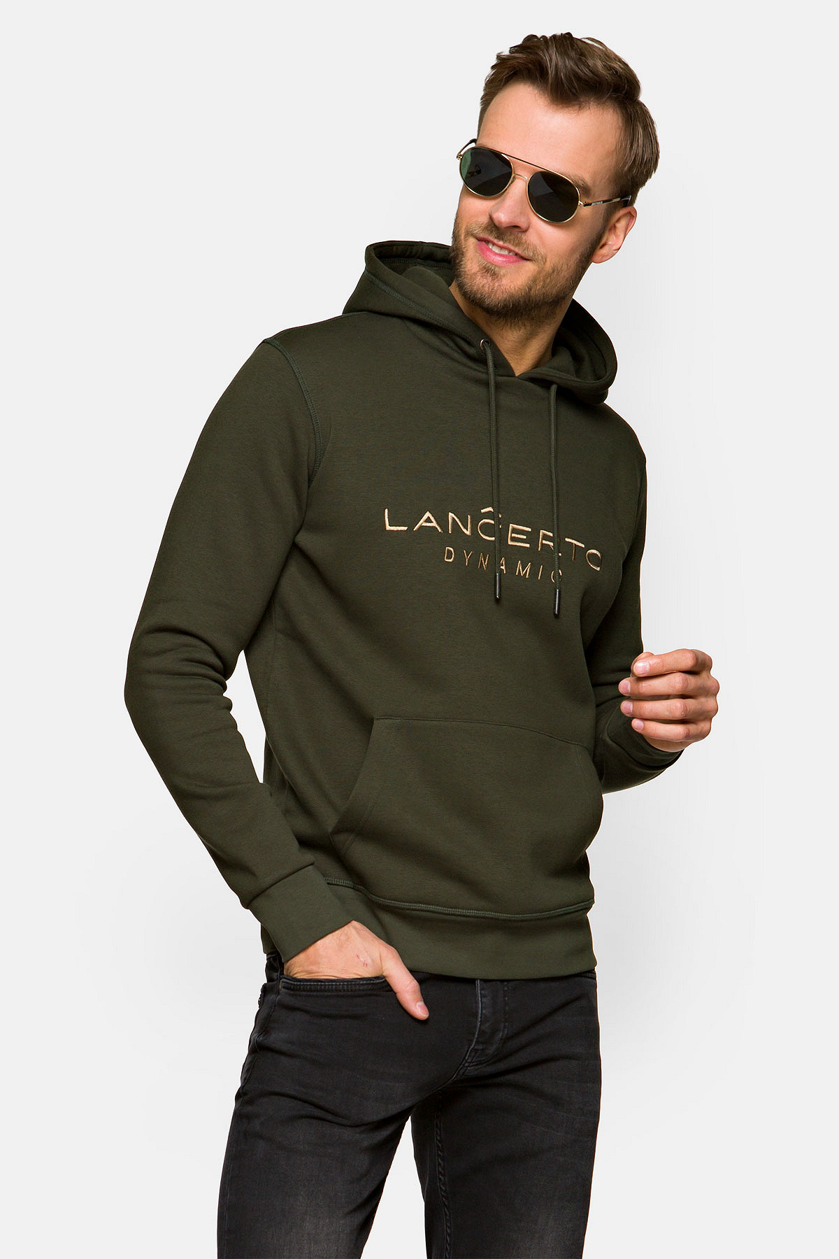 Bluza Zielona z Kapturem Avery rozmiar 2XL; 3XL; L; M; XL