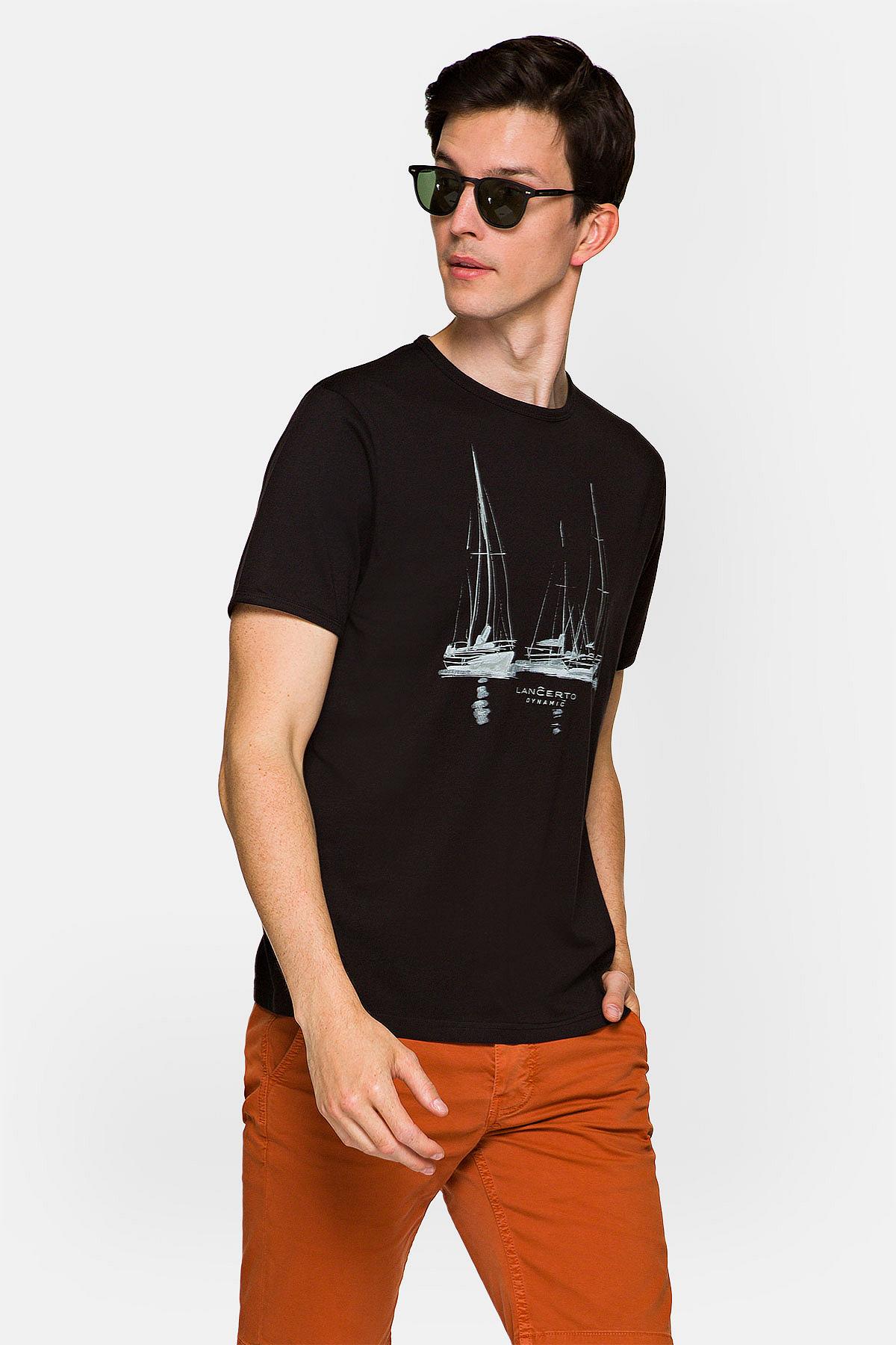 Koszulka Czarna Charlie rozmiar 2XL; 3XL; 4XL; 5XL; L; M; XL