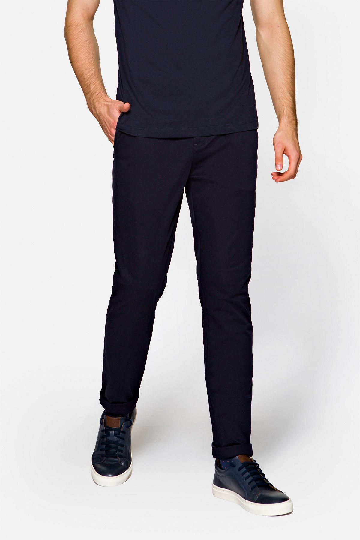 Spodnie Chino Nestor Granatowe rozmiar W30/L32; W31/L32; W32/L32; W33/L32; W34/L32; W35/L32; W36/L32; W38/L32; W40/L32; W42/L32