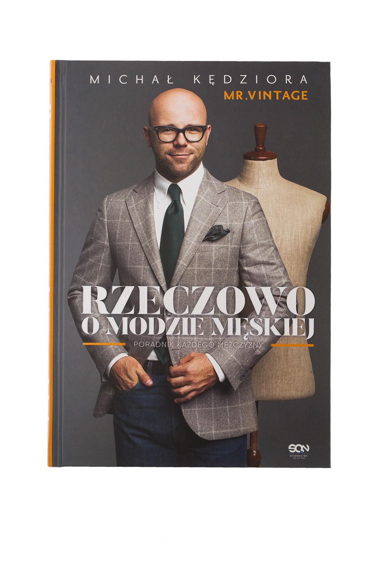 Rzeczowo o Modzie Męskiej Książka rozmiar