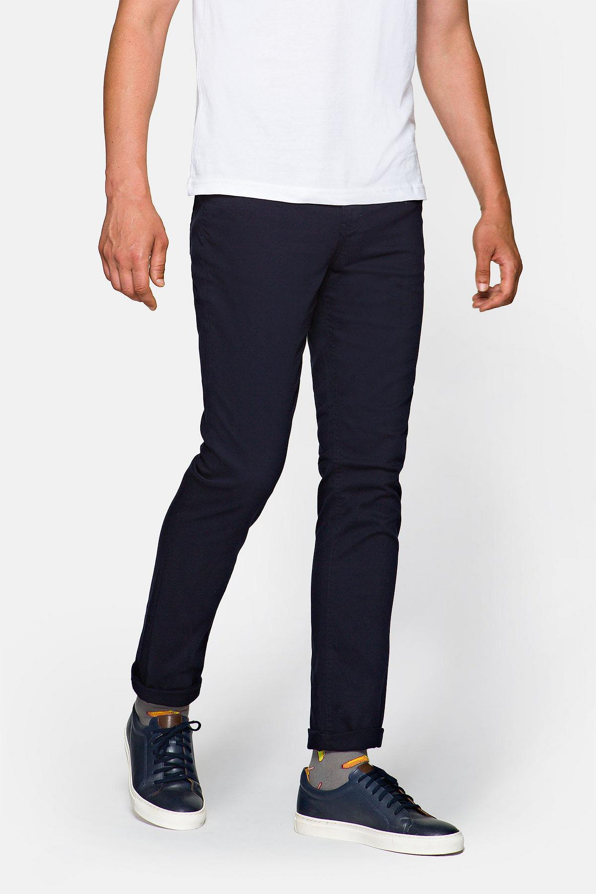 Spodnie Ciemnogranatowe Nolan rozmiar W30/L32; W31/L32; W32/L32; W32/L34; W33/L32; W33/L34; W34/L32; W34/L34; W35/L32; W35/L34; W36/L32; W