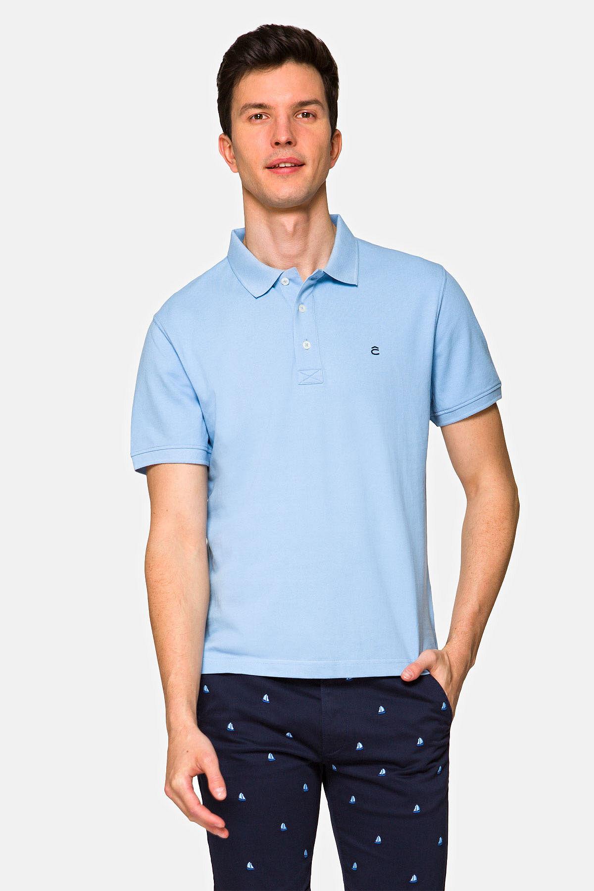Koszulka Jasnoniebieska Polo Patrick rozmiar 2XL; 3XL; L; M; S; XL