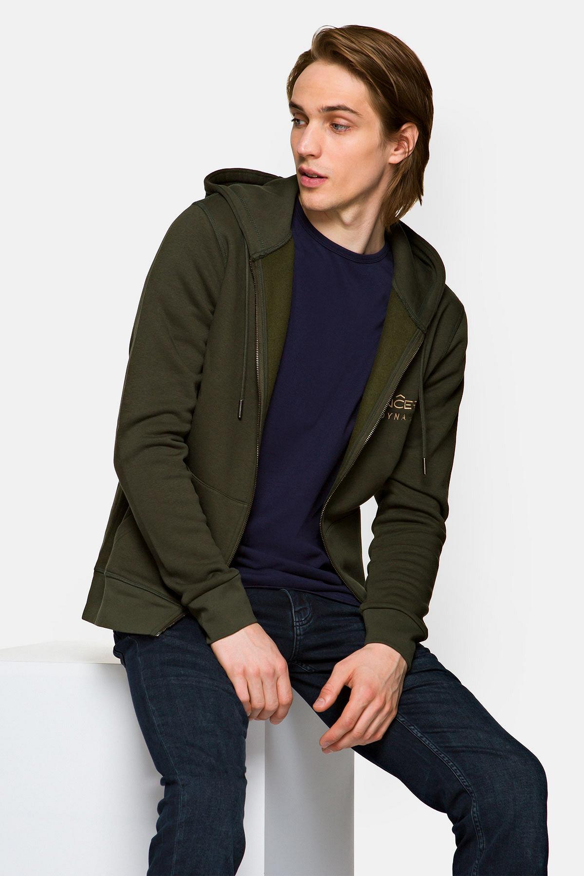 Bluza Zielona Rozpinana z Kapturem Rider rozmiar 2XL; L; M; XL