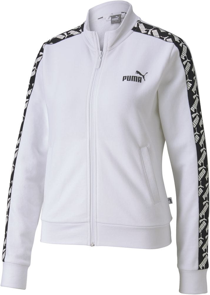 Puma bluza damska Amplified Track TR 58121902 M White