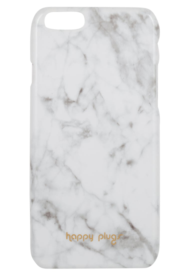 Happy Plugs Etui na telefon white carrara marble - Happy Plugs Unik iPhone 6 Slim Case