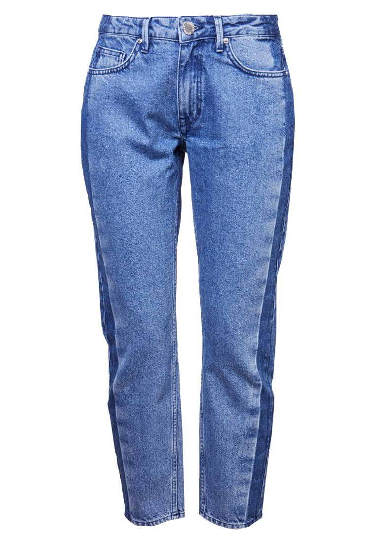 2nd Day 2ND STEVE STRIPE Jeansy Relaxed Fit midblue - 2181724302