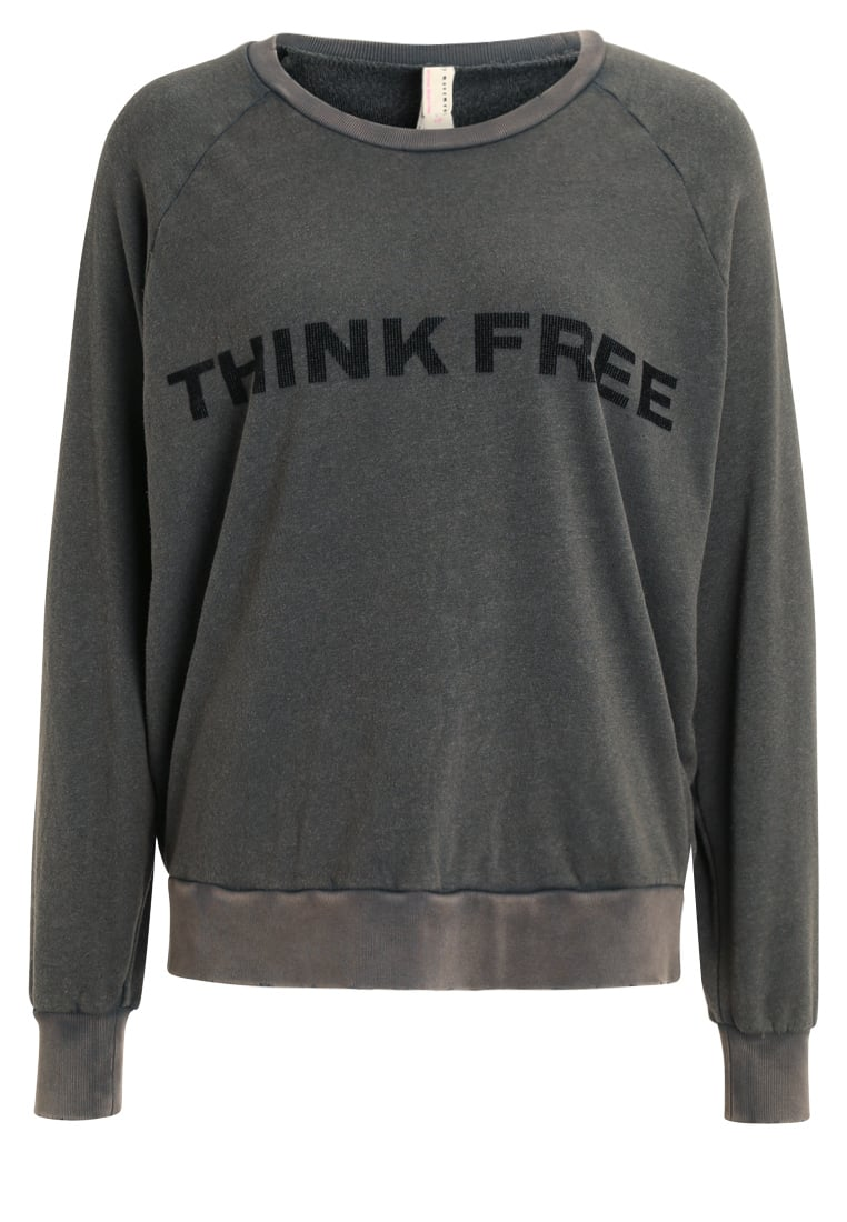 Free People ROUGH AND TUMBLE Bluza carbon