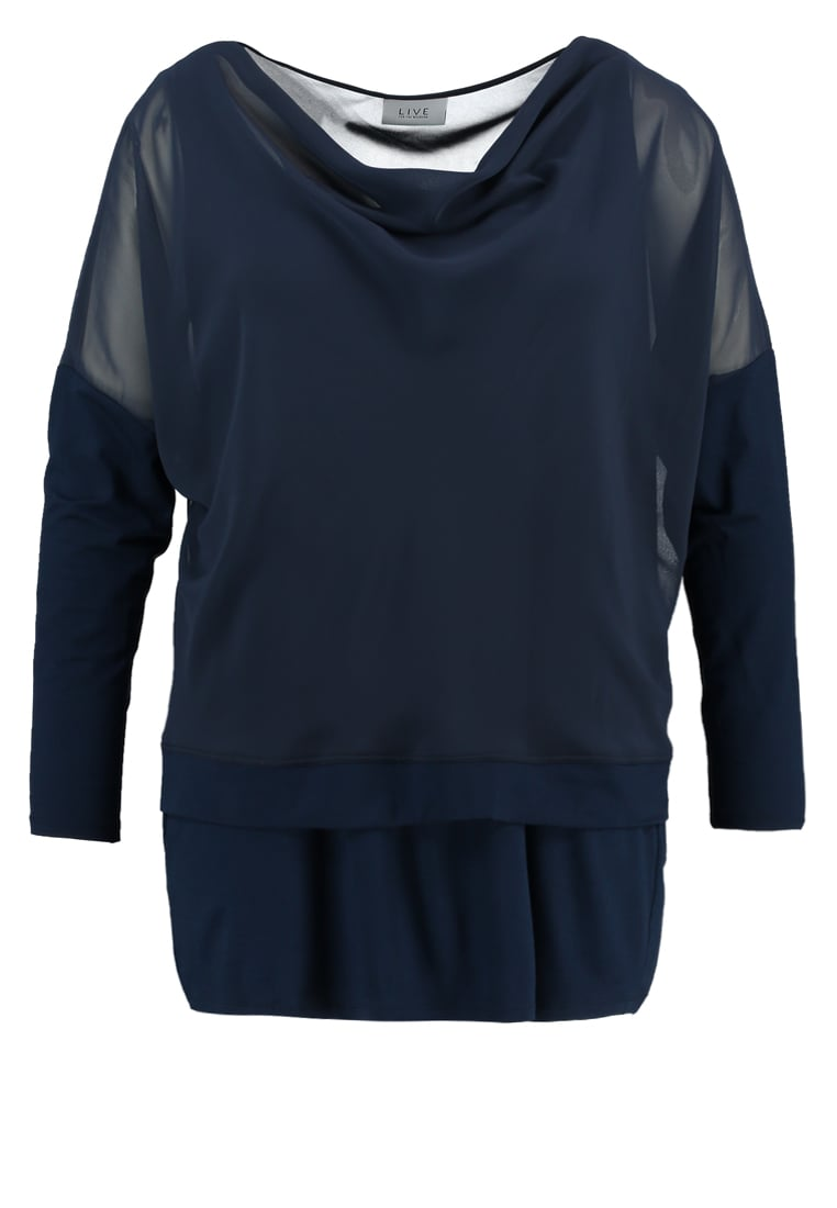 Live Unlimited London 2IN1 Top navy - LUZ531