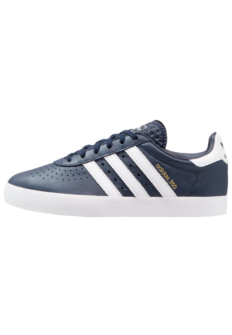 adidas Originals ADIDAS 350 Tenisówki i Trampki collegiate navy/footwear white/gold metallic - DWJ26