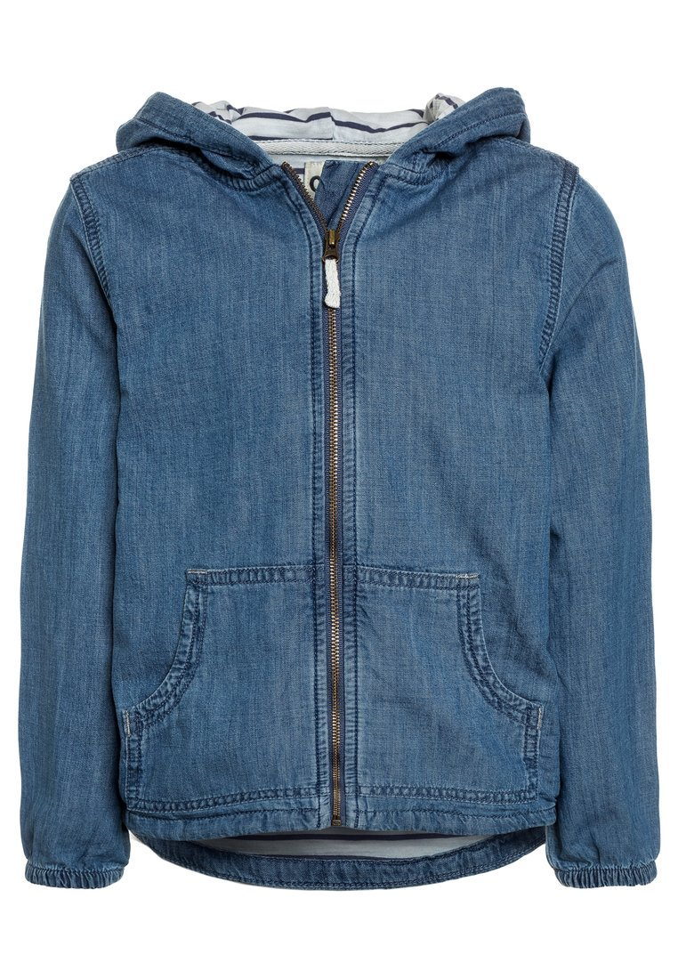 OshKosh LIGHTWEIGHT HOODED Kurtka jeansowa blue denim - 23169210/33169210
