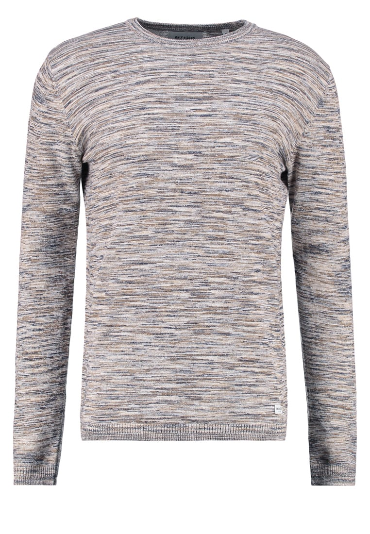 Only & Sons ONSABACAS Sweter lead gray - 22005090