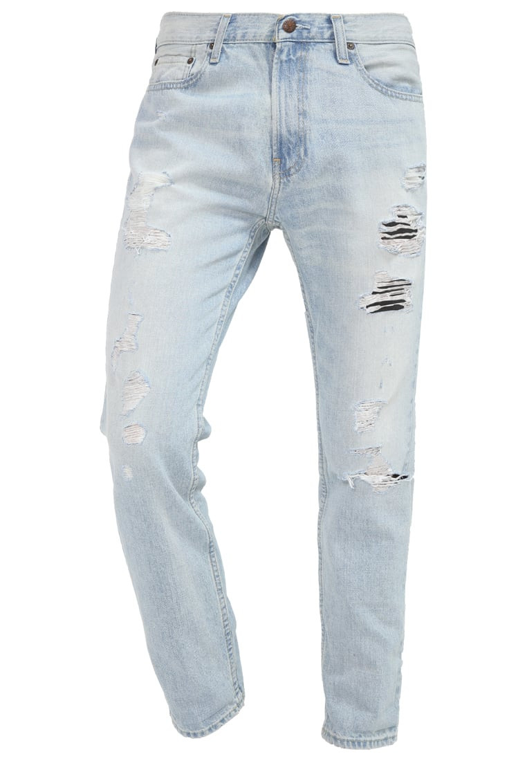 Hollister Co. Jeansy Slim fit destroyed - KI331-7007