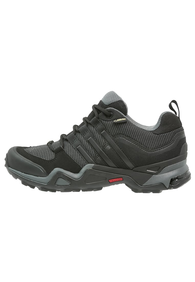 adidas Performance FAST X GTX Półbuty trekkingowe dark grey/core black/vista grey - IUV89