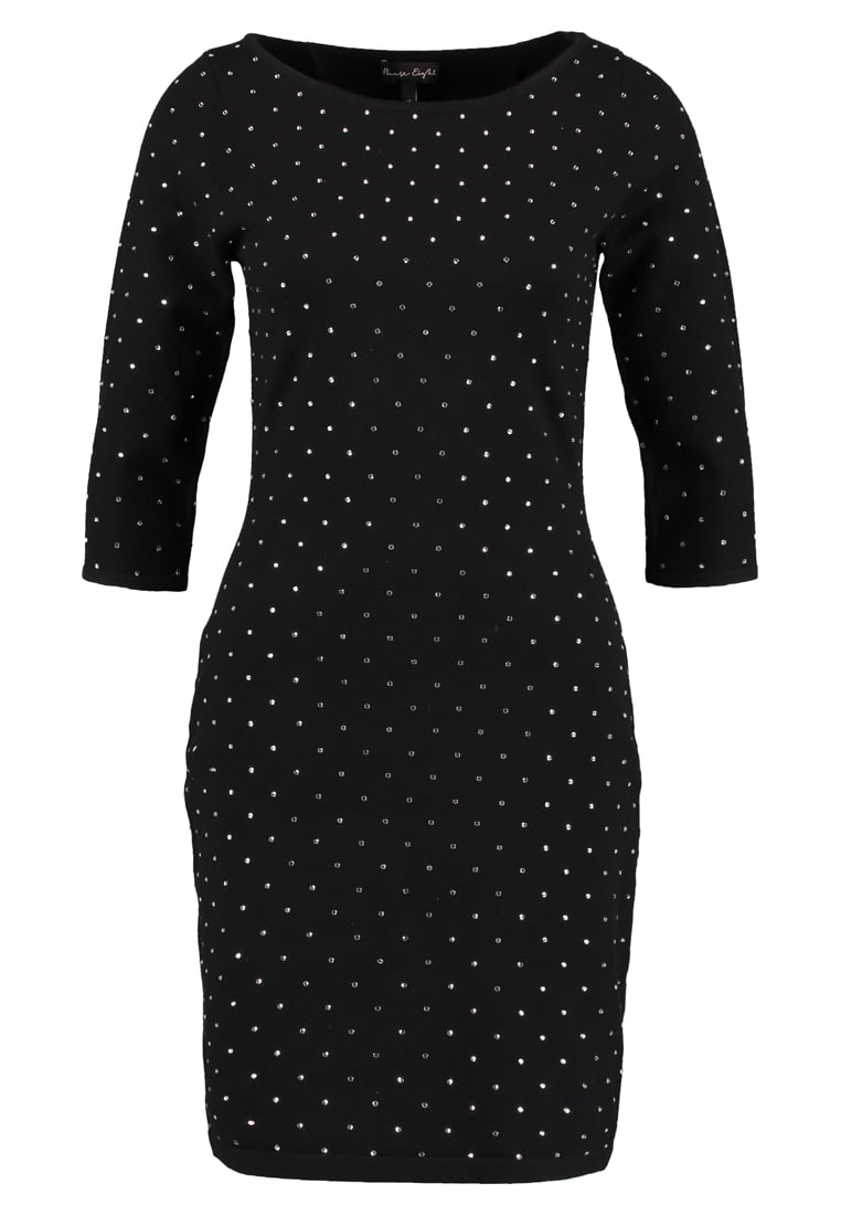 Phase Eight HELENE HEAT Sukienka dzianinowa black - Helene Heat Fix Shift Dress