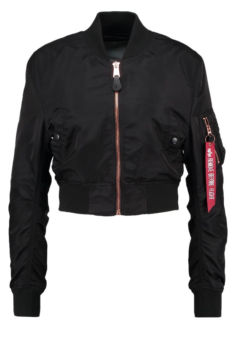 Alpha Industries Kurtka Bomber black/copper - 176006