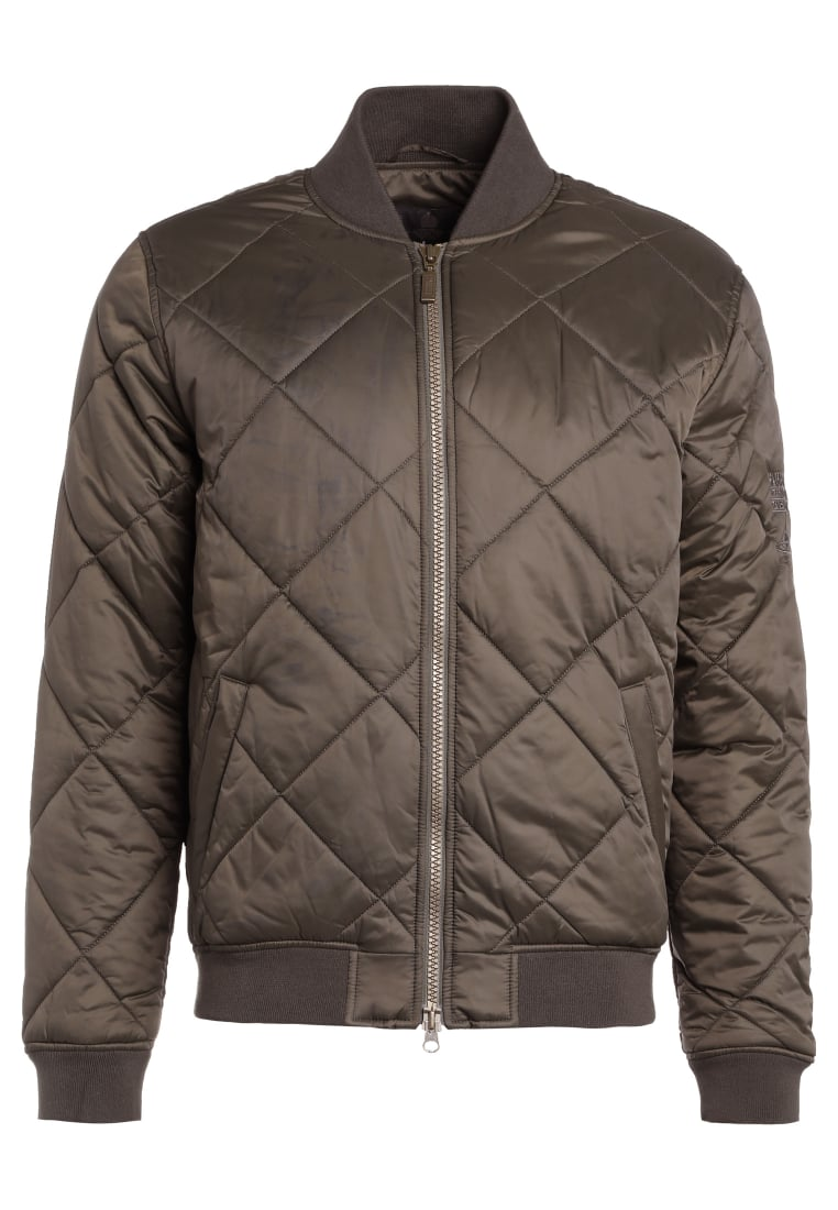 Barbour International™ Kurtka Bomber olive - MQU0898