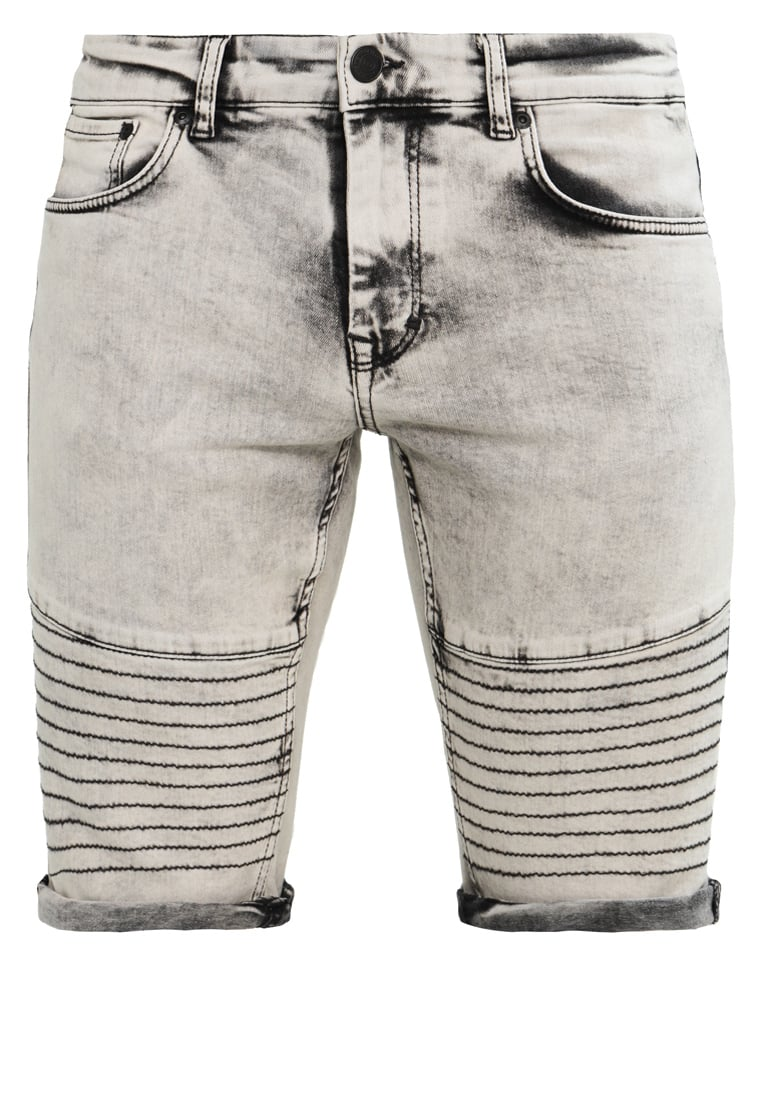 Brooklyn's Own by Rocawear Szorty jeansowe grey mix - BR-0317-M-0534