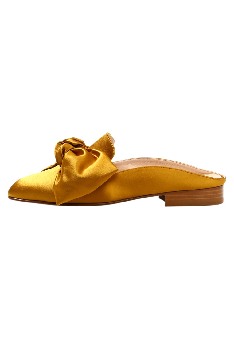 Club Monaco TATELYN BOW SLIDE Klapki chartreuse