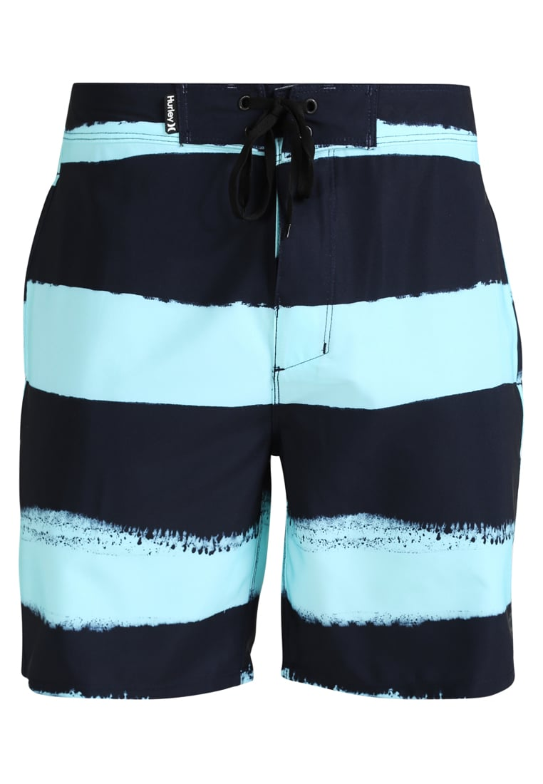 Hurley PHANTOM BEACHSIDE BROTHER Szorty kąpielowe obsidian - MWS0004680