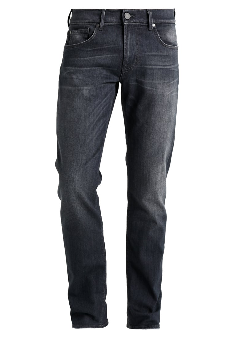 7 for all mankind SLIMMY LUXE PERFORMANCE Jeansy Slim fit grey - SMSU04AJ
