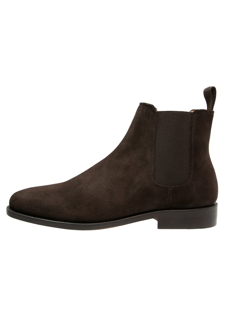 Peralston Botki brown - PE-CB-02 CHELSEA BOOT Suede Leather
