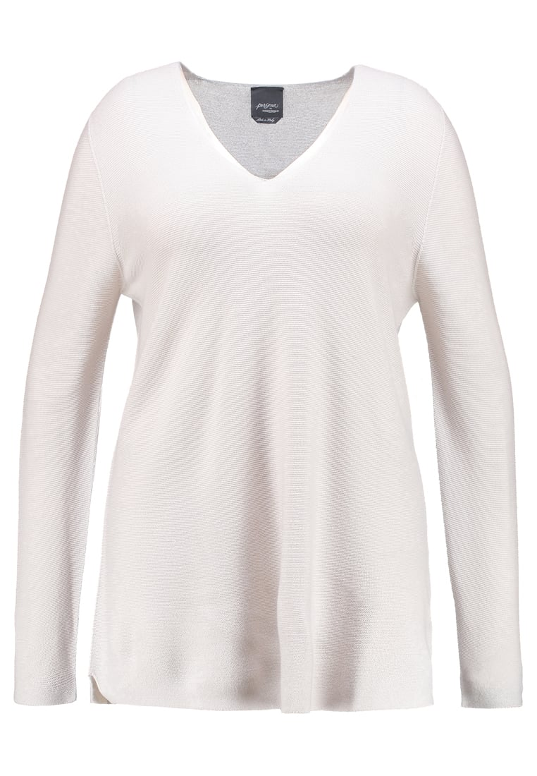 Persona by Marina Rinaldi ALTO Sweter light grey - 1363107