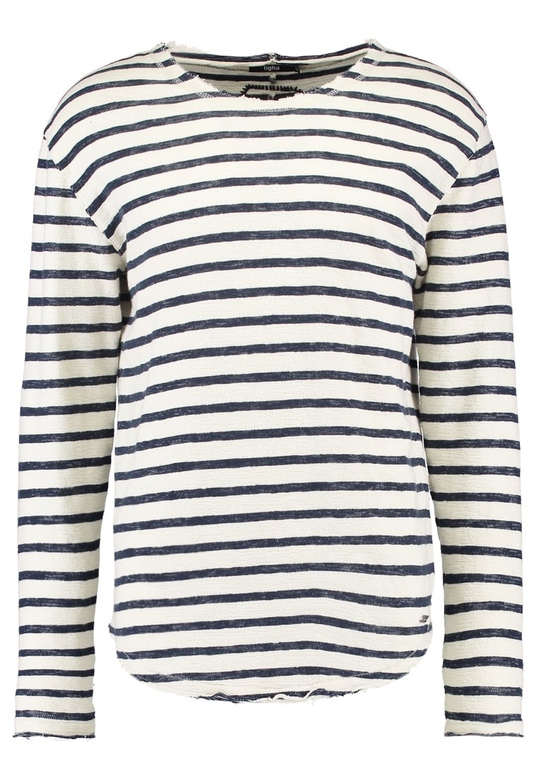 Tigha ALISTER Sweter midnight blue/white - 102158