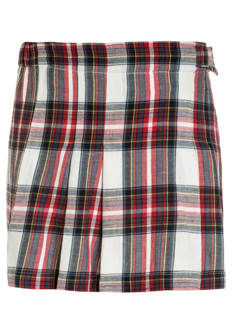 American Outfitters CHECK PLEAT Spódnica plisowana red - 217-1469
