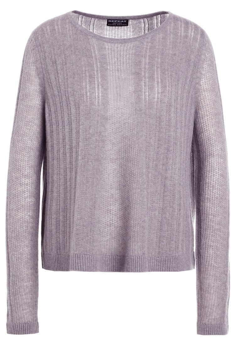 Repeat LOCHMUSTER Sweter light grey - 100009
